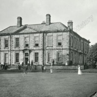 Esholt Hall from the Lawn - HLS05787