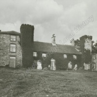 Farnhill Hall from the South - HLS05790