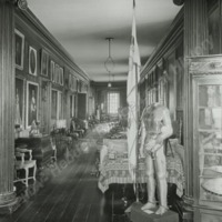 Newburgh Priory, the Long Gallery - HLS05955