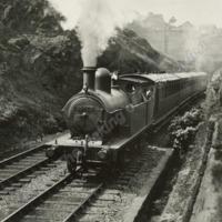 The Railway Cutting at Winterbutlee, Walsden.  - MOT00138