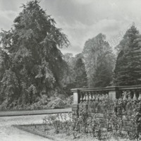 Farnley Hall, in the Gardens - HLS05800