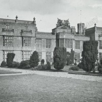 Burton Constable, North West view of Front - HLS05736