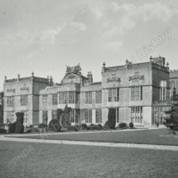 Burton Constable, South West view of Front - HLS05735