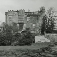 Heath Old Hall, from the South - HLS05898