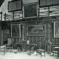 Woodsome Hall, the Hall from the North. - HLS06063