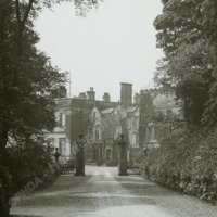 Farnley Hall, the Avenue - HLS05793