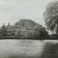 East Riddlesden Hall, North Front - HLS05781