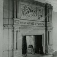 Heath Old Hall, Chimney Piece in Long Gallery - HLS05901