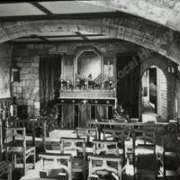 Ledston Hall, interior of Chapel  - HLS05841