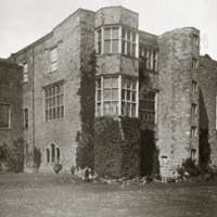 Gilling Castle, from South East angle - HLS05805