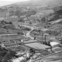 View over Walsden in the 1920's. - MOT00432