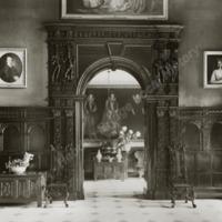 Burton Agnes Hall, Archway in Hall - HLS05719