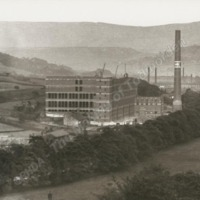Mons Mill under Construction, 1908 - 9 - MOT00198