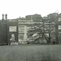 Weston Hall, East front from the Lawn - HLS06038