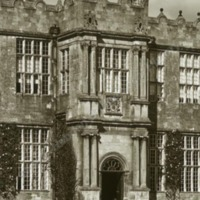 Howsham Hall, the Porch - HLS05909