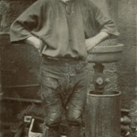 John Willy Tasker, labourer - MOT00412