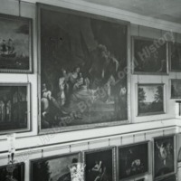 Burton Constable, Head of Grand the Staircase  - HLS05741
