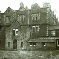 Goldsborough Hall, the Courtyard - HLS05816