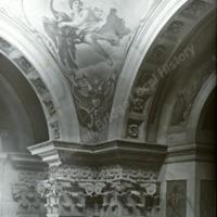 Castle Howard, details of Spandrels in the Entrance Hall - HLS05772