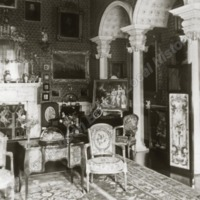 Newburgh Priory, the Small drawing room. - HLS05948