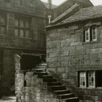 East Riddlesden Hall, Steps to Private Chapel - HLS05784