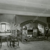Markenfield Hall, the Kitchen - HLS05852