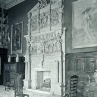 Burton Agnes Hall, the Hall Chimney Piece - HLS05717