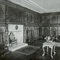 Burton Agnes Hall, The Oak Drawing Room - HLS05720