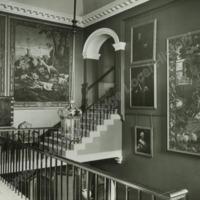 Stone Staircase, Newburgh Priory - HLS05950
