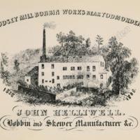 John Helliwell, Bobbin Manufacturer - MOT00234