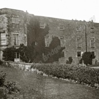 Gilling Castle, from South Terrace - HLS05806