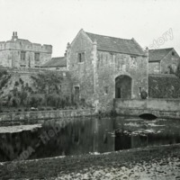 Markenfield Hall, the Gate House - HLS05846