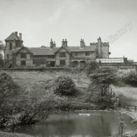 Shibden Hall - South Front, distant - HLS06030