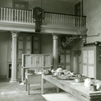 Goldsborough Hall, the kitchen - HLS05823