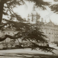 Castle Howard, South Front with Cedar Trees - HLS05751