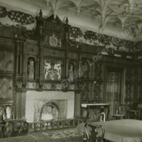 Gilling Castle, the Great Chamber - HLS05808