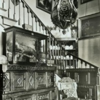 Weston Hall, the Staircase Hall - HLS06042