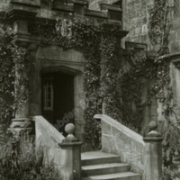 Farnley Hall, Doorway to the Kitchen - HLS05796