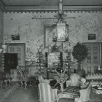 Burton Constable, the Chinese Room - HLS05747
