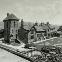 Shibden Hall from the Terrace - HLS06032