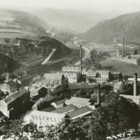 View overlooking Springside, about 1900. - MOT00420