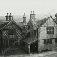 Shibden Hall, North Front - HLS06035