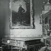 Burton Constable, corner of the Ballroom - HLS05745