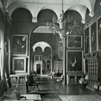 Castle Howard, the Picture Gallery (Looking North) - HLS05766