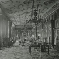 Burton Constable, the Library or Long Gallery - HLS05743