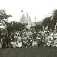 Woodsome Hall, Pageant in Grounds - HLS06067