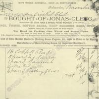 Invoice: Jonas Clegg - MOT00344