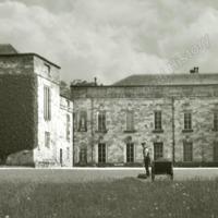 Entrance court on North side, Newburgh Priory - HLS05879