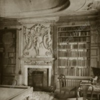 The Library, Newburgh Priory - HLS05952