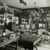 Weston Hall, the Front Hall - HLS06041